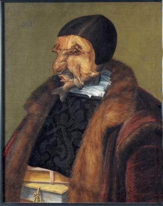 Giuseppe Arcimboldo, Il Giurista, 1566, Stoccolma, Nationalmuseum