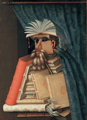 Giuseppe Arcimboldo (copia da), Il Bibliotecario, Svezia, Castello di Skokloster