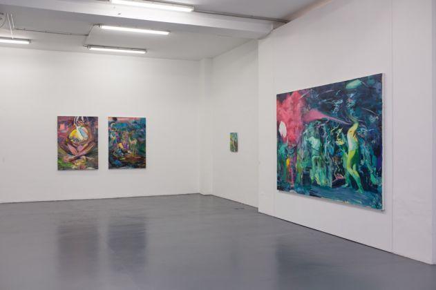Giuseppe Gonella. Chasing Lights. Exhibition view at Galleria Giovanni Bonelli, Milano 2017. Courtesy l'artista e Galleria Giovanni Bonelli. Photo Roberta Vagliani