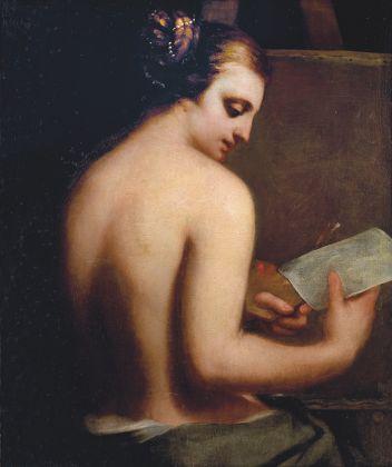 Guido Cagnacci, Allegoria della pittura, 1650-55. Collezione Venceslao Di Persio