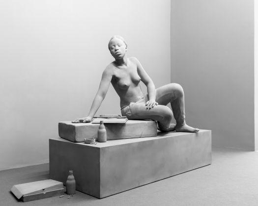 Hans Op de Beeck, installation view at Fondazione Museo Pino Pascali, Polignano a Mare 2017, photo Marino Colucci / Sfera