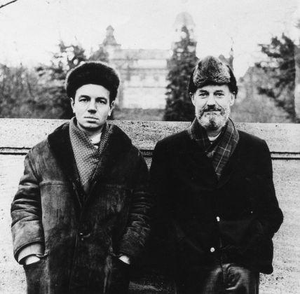 Heiner Bastian, Lawrence Ferlinghetti in Khabarovsk, 1967