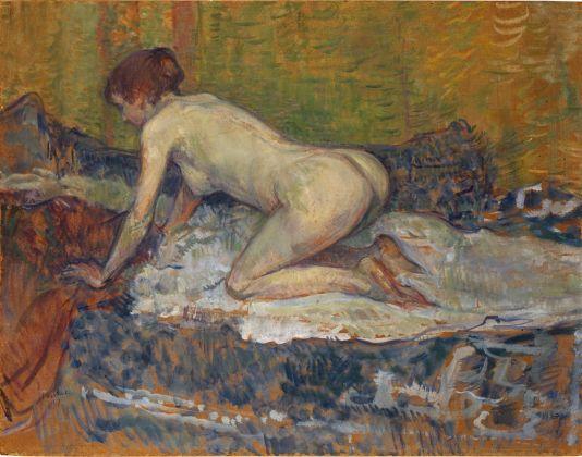 Henri de Toulouse Lautrec, Femme rousse nue accroupie, 1897. San Diego Museum of Art