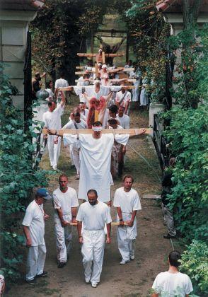 Hermann Nitsch, Das Orgien Mysterien Theater. Das 6 Tage Spiel, Prinzendorf 1998. Photo Cibulka Frey