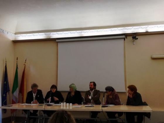 Immagini dalla conferenza stampa