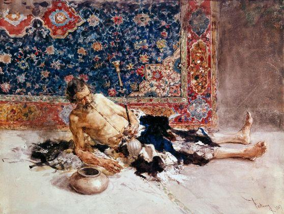 Mariano Fortuny, Il fumatore di oppio