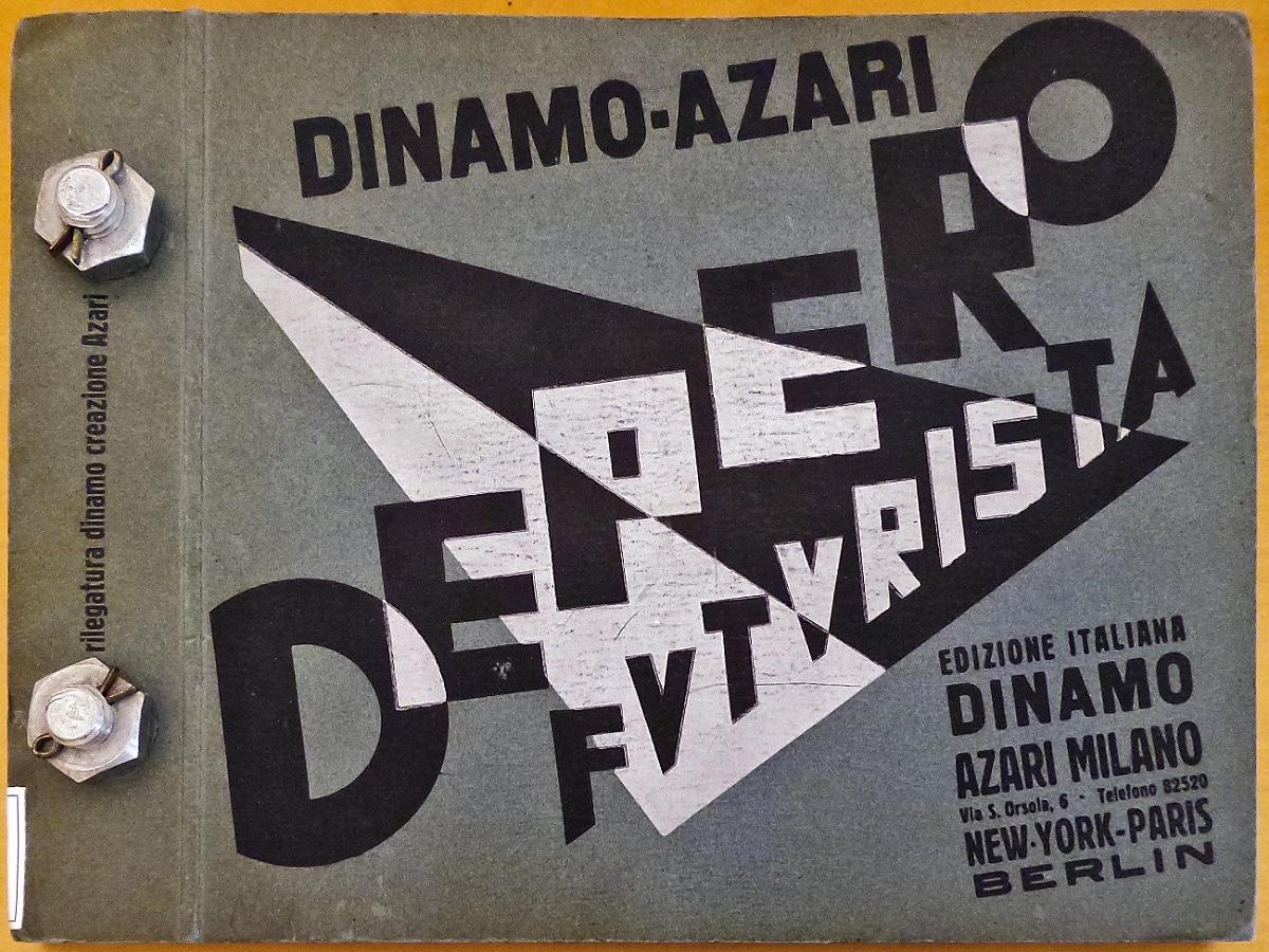 Il libro imbullonato di Fortunato Depero, 1927