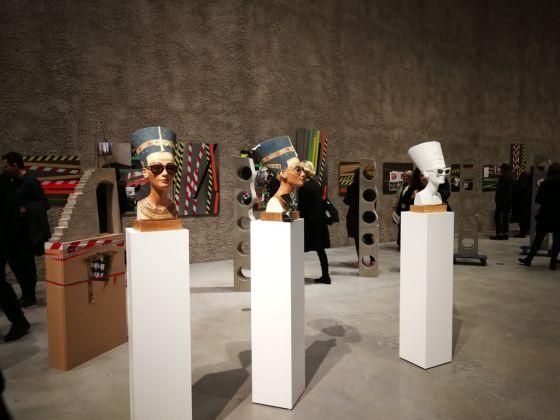 Isa Genzken. Issie Energie. Exhibition view at König Galerie, Berlino 2017