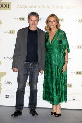 Isabella Ferrari e Renato De Maria(Photo by Elisabetta Villa/Getty Images)