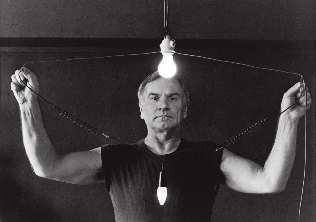 Józef Robakowski, I Am Electric, 1996-2005, still da video