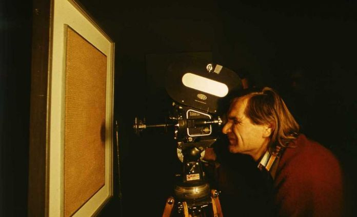 Józef Robakowski, Living Gallery, 1975, film 35 mm film