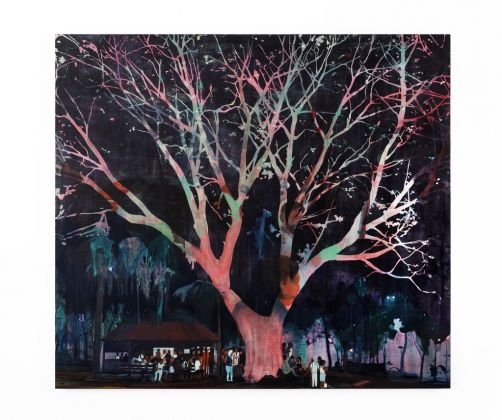 Jules de Balincourt, Waiting Tree, 2012