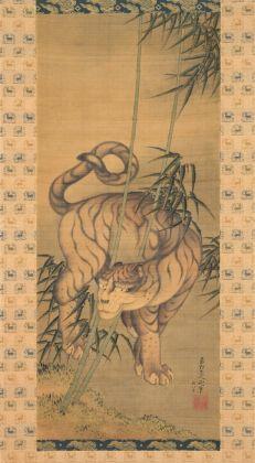 Katsushika Hokusai, Tigre tra I bambù, 1839. Collezione privata