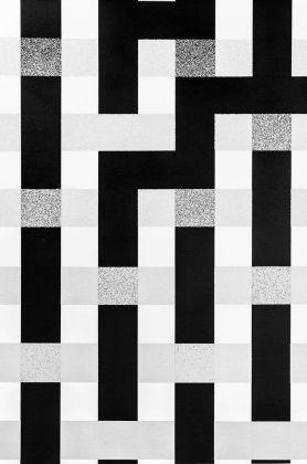 L'Atlas, Crossfade n°2, 2017 (dettaglio). Spray su tela. Courtesy Wunderkammern e l'artista
