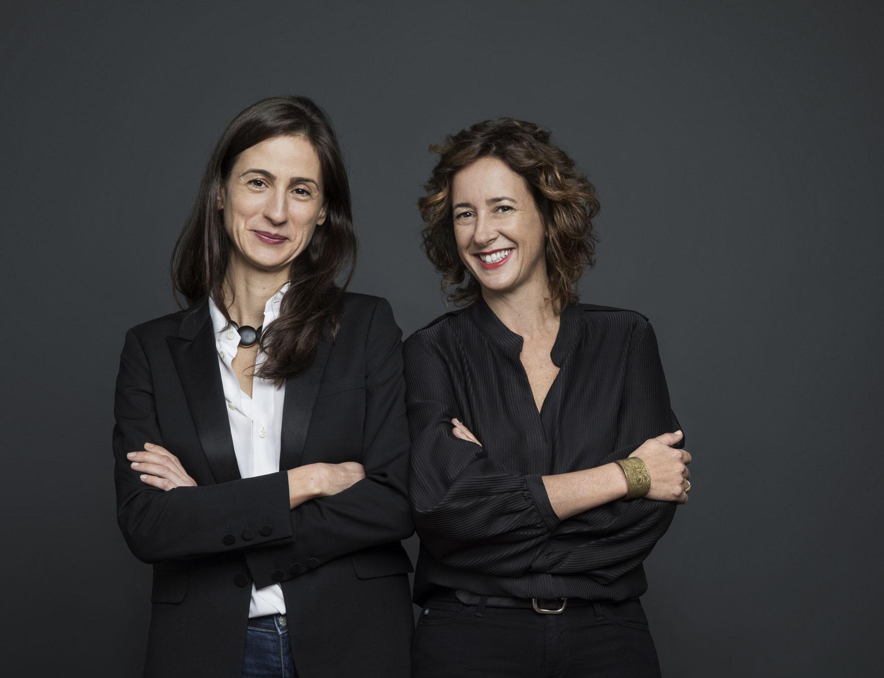Benedetta Spalletti e Lodovica Busiri Vici, foto Ugo Dalla Porta