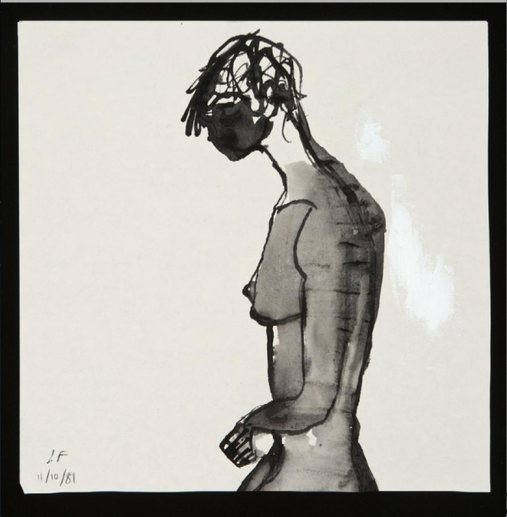 Lawrence Ferlinghetti, Untitled, 1981. Collezione dell'artista, San Francisco