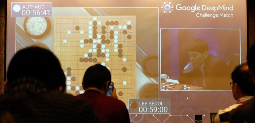 Lee Se dol contro AlphaGo
