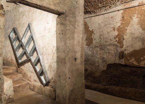 Lek & Sowat. Eterno. Exhibition view at Wunderkammern, Roma 2017
