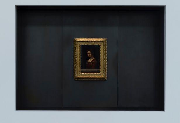 Louvre Abu Dhabi – Leonardo da Vinci, La Belle Ferroniere, Musée du Louvre © Louvre Abu Dhabi, Marc Domage