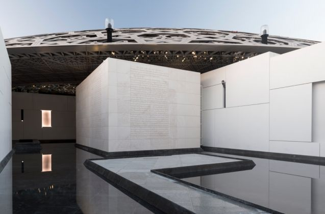 Louvre Abu Dhabi Jenny Holzer, For Louvre Abu Dhabi, 2017 © Louvre Abu Dhabi Photography Marc Domage