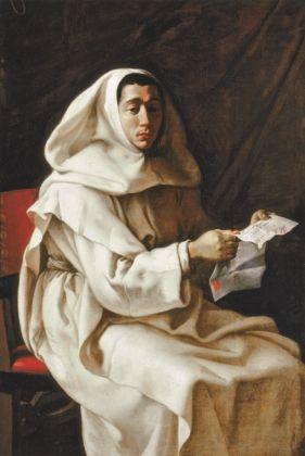 Luigi Miradori detto il Genovesino, Ritratto di monaco olivetano della famiglia Pueroni, Collezione privata. Tela, cm 142,5 x 97