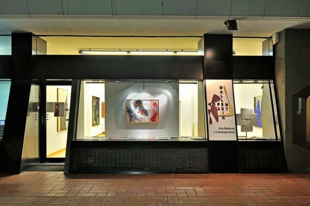 Made in America. Exhibition view at Galleria Open Art, Prato 2017