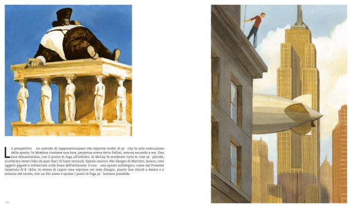 Manuele Fior. L'ora dei miraggi (Oblomov, 2017). Pagine 162-163