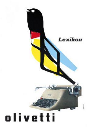 Marcello Nizzoli, Lexicon Olivetti, 1953