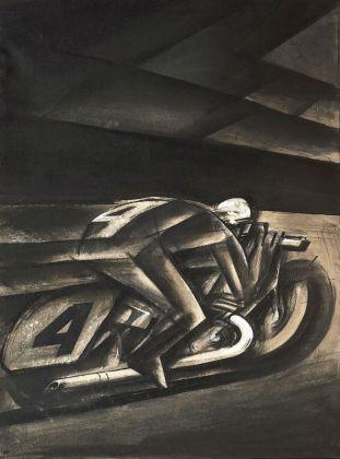 Mario Sironi, Uomo nuovo, 1918