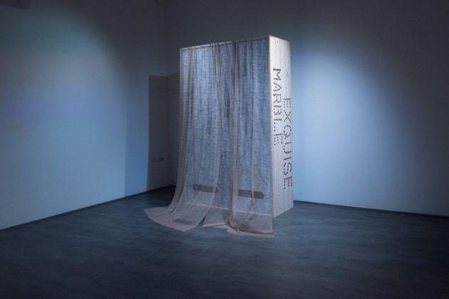 Michele Chiossi. deʒav'y. Exhibition view GABAMC, Macerata 2017. Photo Sonia Petrocelli
