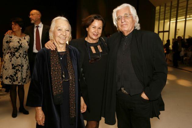 Monique Veaute e Germano Celant. Photo Ernesto S. Ruscio - Getty Images