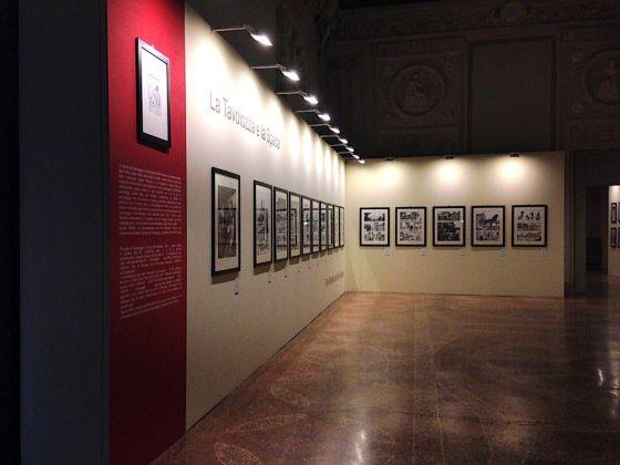 Nel segno di Manara. Antologica di Milo Manara. Exhibition view at Palazzo Pallavicini, Bologna 2017