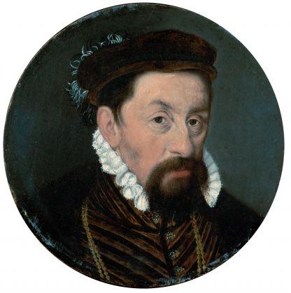 Nicolas Neufchantel (attr.), L'imperatore Massimiliano II, Vienna, Kunsthistorisches Museum, Gemäldegalerie