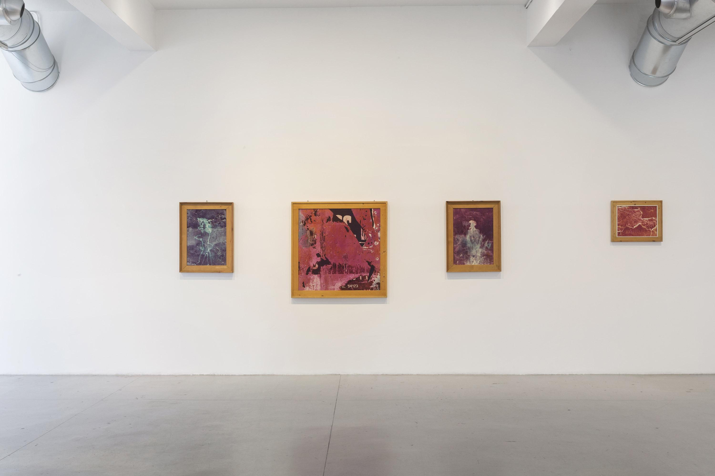 Nino Migliori. Il tempo, la luce e i segni. Exhibition view at Galleria M77, Milano 2017