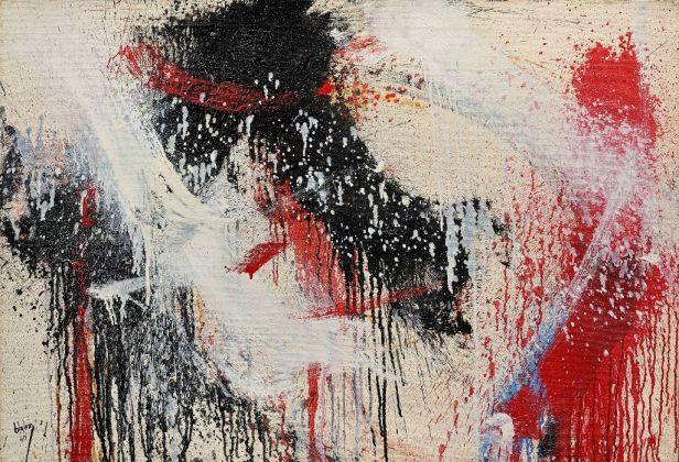 Norman Bluhm, Ingot, 1960. Courtesy Galleria Open Art Prato