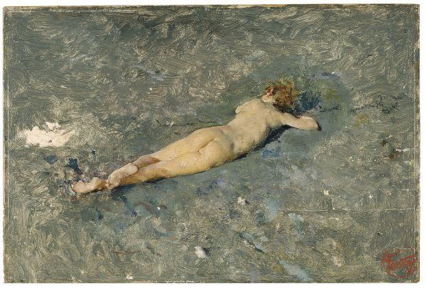 Mariano Fortuny, Nudo sulla spiaggia di Portici