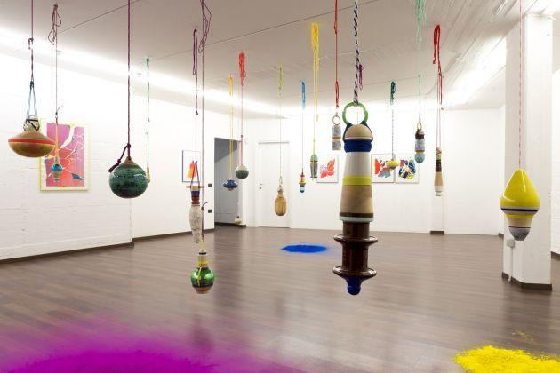 Nuria, Drishti, exhibition view. Galleria Patricia Armocida, Milano, 2017