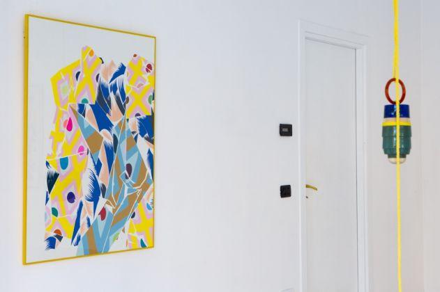 Nuria Mora. Exhibition view at Galleria Patricia Armocida, Milano 2017