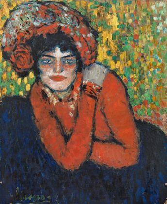 Pablo Picasso, L'attente (Margot), 1901. Museum Picasso, Barcellona. (c) Sucesión Pablo Picasso, VEGAP, Madrid 2017