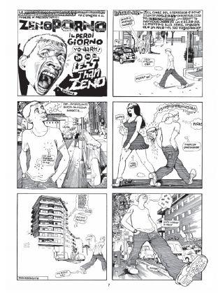 Paolo Bacilieri, Zeno Porno e La Magnifica Desolazione (Coconino Press, 2017)