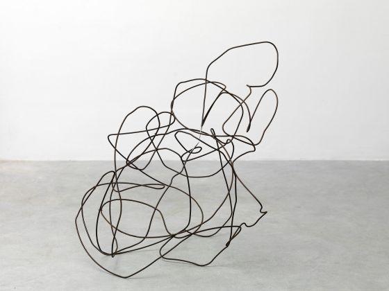 Paolo Icaro, Groviglio, sinapsi, 1972, acciaio ossidato, cm 75 x 67 x 69, Courtesy l'artista e P420, Bologna (Ph. Michele Alberto Sereni)