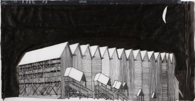 Patrick Bouchain, La Grange au lac, Evian, 1992-94. Pho Franáois Lauginie. Collection Frac Centre Val de Loire