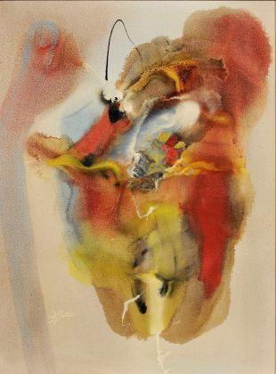 Paul Jenkins, Eyes of the Dove, for Mantic Medium, 1959. Courtesy Galleria Open Art, Prato