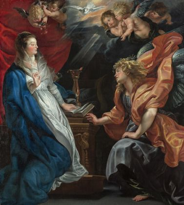 Peter Paul Rubens, Annunciazione (ca. 1610) © KHM Vienna Museumsverband