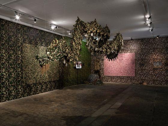 Qiu Zhijie. Journeys without Arrivals. Exhibition view at Centre d'Art Contemporain, Ginevra 2017. Photo Annik Wetter