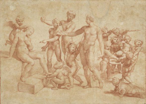 Raffaello, Nozze di Alessandro e Rossane (ca.1517) © The Albertina Museum, Vienna