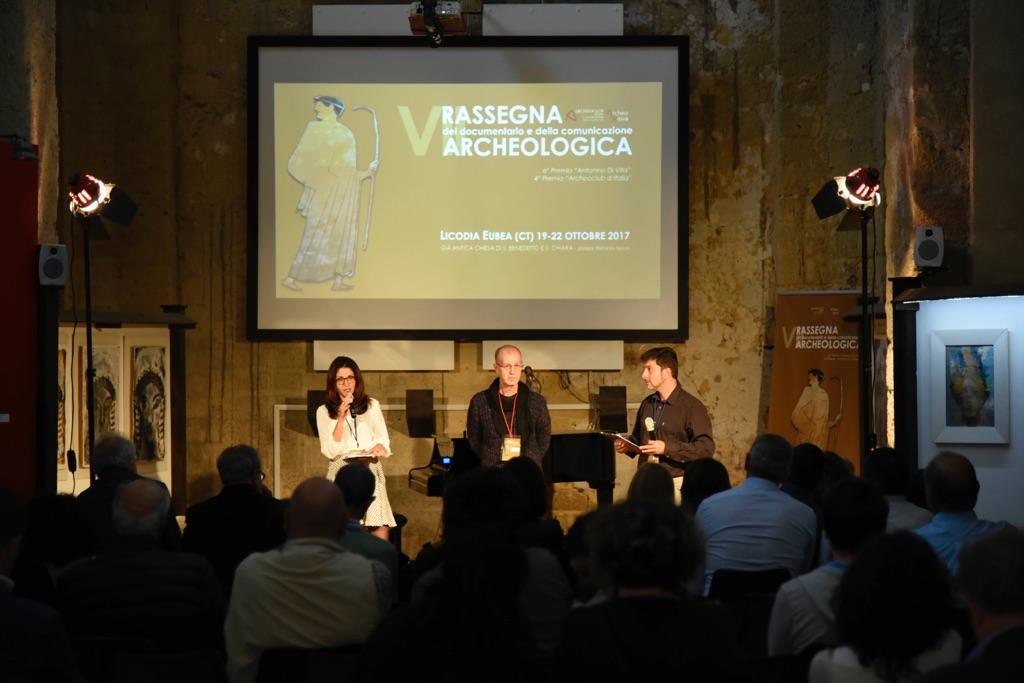 Rassegna del documentario e della comunicazione archeologica, Licodia Eubea 2017. Photo Roberto Greco