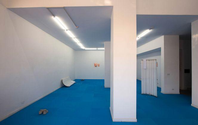Rowena Harris. Soft Boundaries. Installation view at The Gallery Apart, Roma 2017