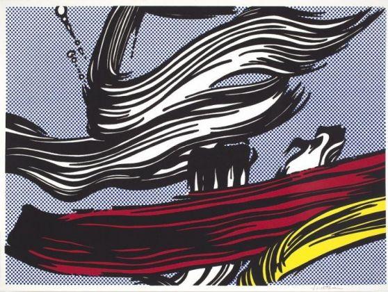 Roy Lichtenstein, Brushstrokes, 1967. ∏ Estate of Roy Lichtenstein, c _o Pictoright Amsterdam 2017
