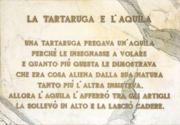 Salvo, La tartaruga e l'aquila, 1972